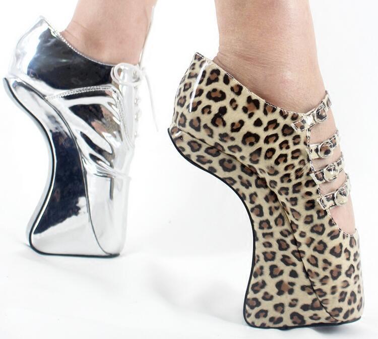les filles sexy léopard sm la reine reine la des chaussons de danse de boîte de nuit super talon sangle pompes 7034fc