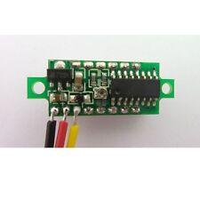2pcs Mini DC 0-100V Red LED 3-Digital Display Voltage Voltmeter Panel Motor HF