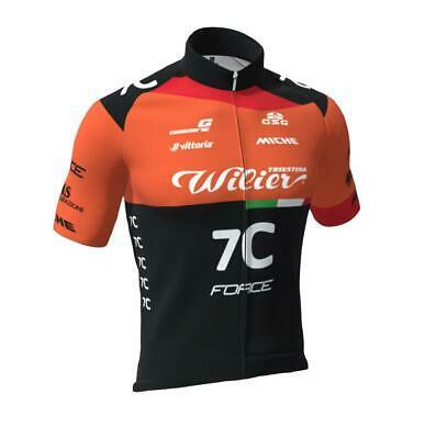 2020 Wilier Pro Team Cycling Jersey Made in Italy by GSG Race fit