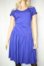 Cora Kemperman Designer  Kleid  Bio- Bauwolle Gr. M  Blau