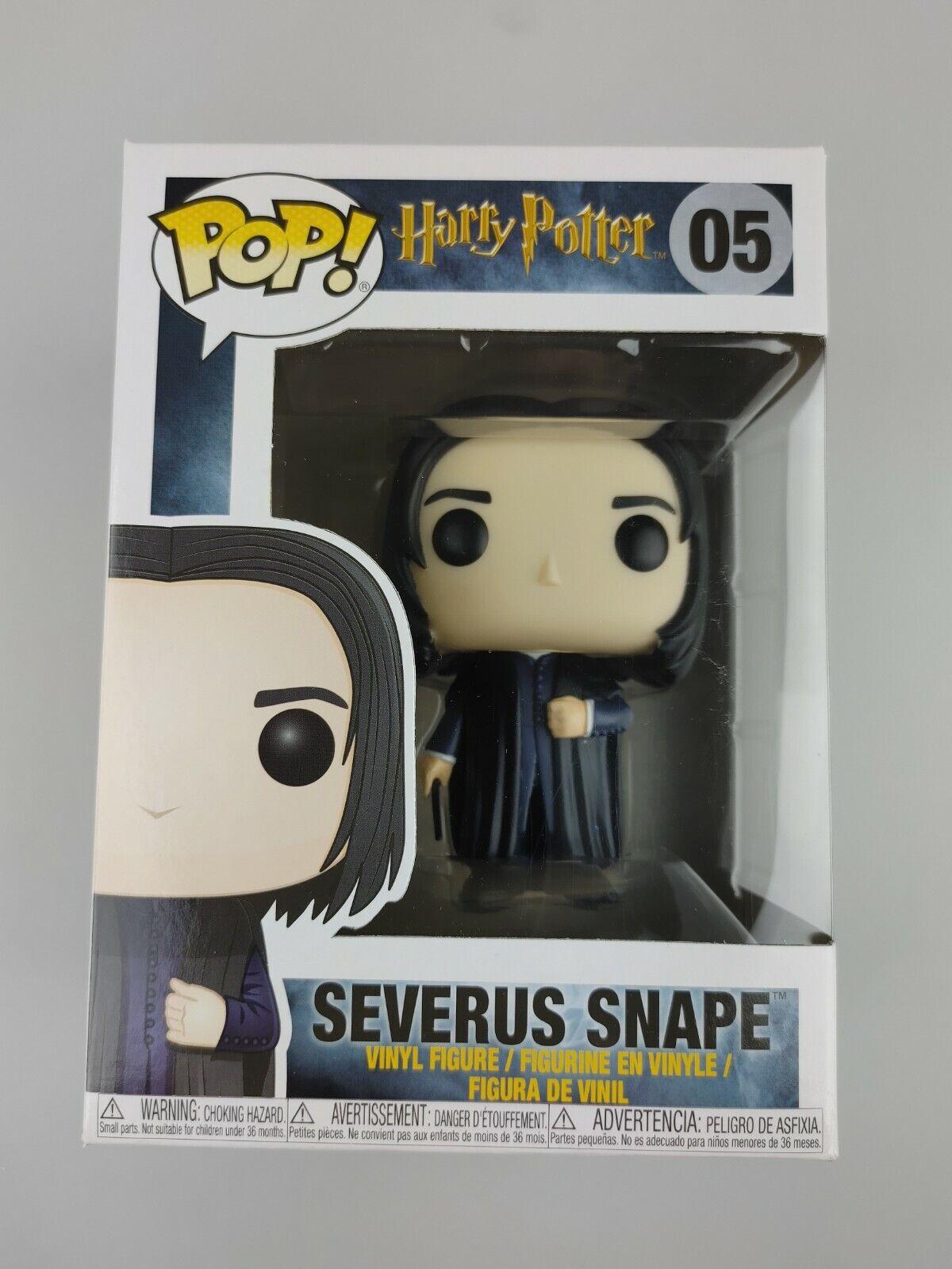 Severus Snape 05 Harry Potter Funko Pop! New +Soft Protector