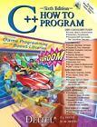 C++ How to Program by H. M. Deitel, P. J. Deitel and Deitel and Associates Staff (2007, CD-ROM / Paperback)