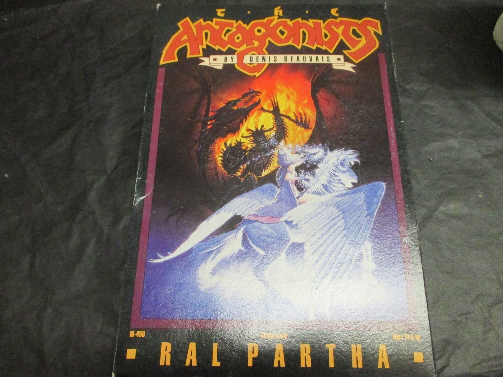 Ral Partha Miniatures Antagonists Box Set  Complete Set