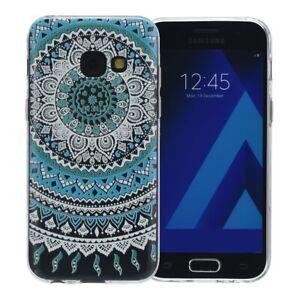 Samsung-Galaxy-A5-2016-Hulle-Case-Handy-Cover-Schutz-Etui-Schutzhulle-Henna-Blau