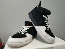 newest f0ff3 77d24 Air Jordan Force AJF 12 Fusion Black Varsity Red White 317742-061 5-2