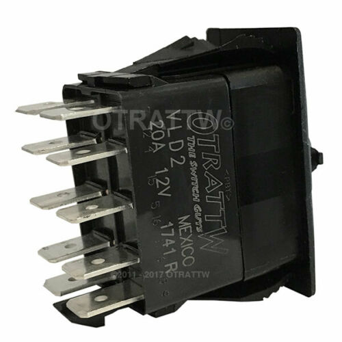 OTRATTW Carling Technologies Contura II Rocker Switch GREEN LENS STBD TRIM