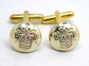 THE-HONOURABLE-ARTILLERY-COMPANY-CUFFLINKS-BUTTON-BADGE-TYPE-IN-FREE-GIFT-POUCH