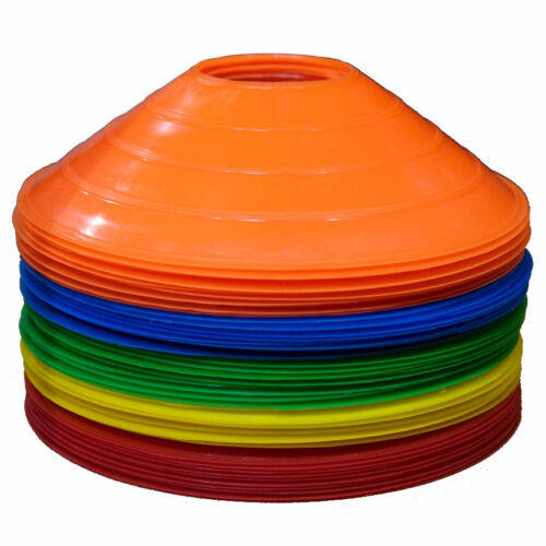WORKOUTZ *DISCOUNTED* SAUCER CONE SET OF 50 SORTER INCLUDED AGILITY CONES