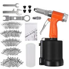 14 500pc Rivet Pneumatic Hydraulic Air Riveter Pop Rivet Gun Riveting Tool Kit