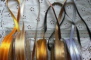 Satin-Reversible-Stitched-Edge-9mm-wide-3-amp-5-Metre-Length-5-Duo-Colour-Choice-LR8