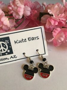 Silvertone-1-2-034-Mickey-Mouse-Head-Traditional-Outfit-Design-Dangle-Earrings