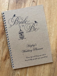 Personalised-Brides-Wedding-Planner-Guide-Journal-Organiser-Vintage-Birdcage