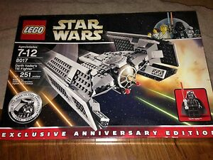 LEGO STAR WARS DARTH VADERS TIE FIGHTER # 8017 NEW FAST ...