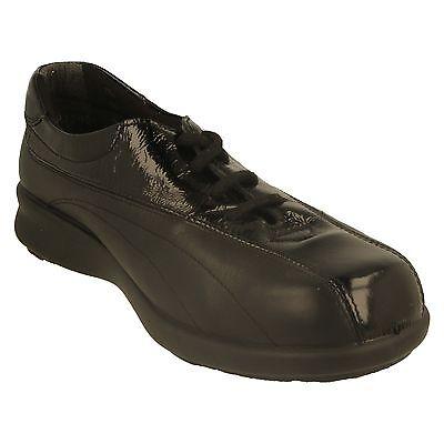 Damen Easy B breite Passform Schuhe - 70243q (Sekunden)