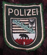 Polizei BGS Uniform Abzeichen Badge Police Sachsen Anhalt