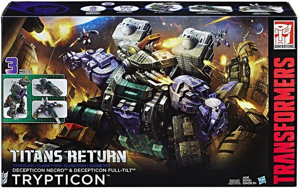 2017 nuevo Hasbro Transformers Titanes retorno Decepticon Necro Trypticon En Stock