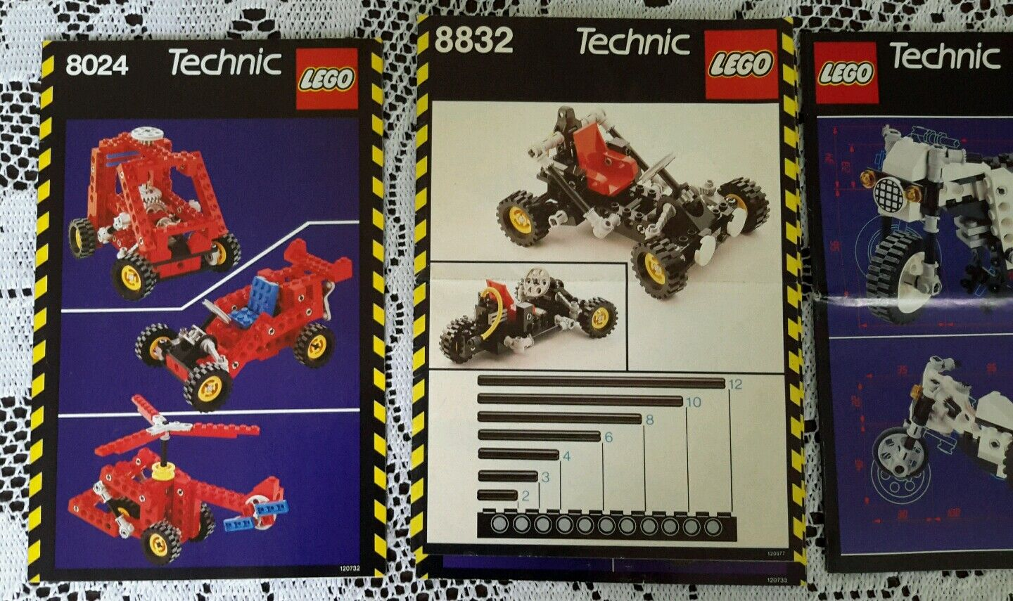 Legos  8832 8810 8022 Technic Universal Universal Universal Instructions Manuals Only  32def1