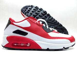 Details about NIKE AIR MAX 90 HYPERFUSE PREMIUM ID WHITESPORT RED SIZE MEN'S 9 [822560 901]