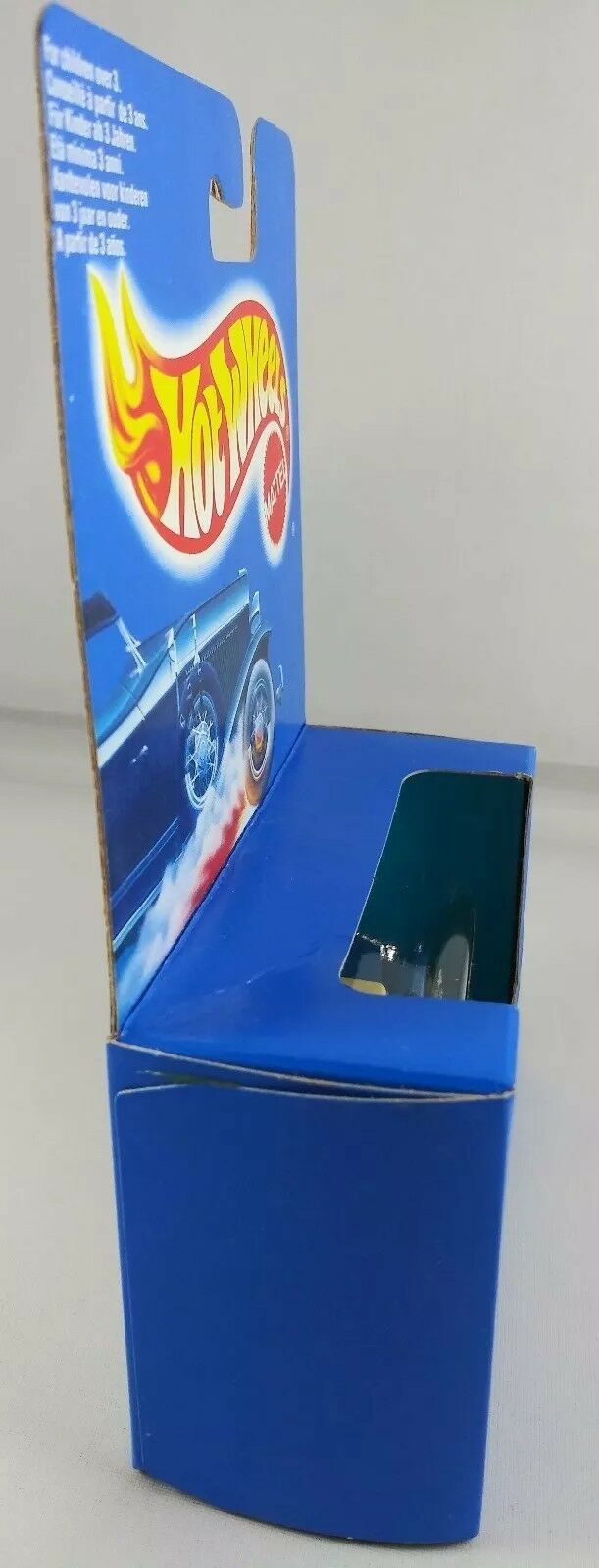 1990 HOT HOT HOT WHEELS ROLLS-ROYCE WHITEWALLS blueE CARD  blueE BOX e476cf