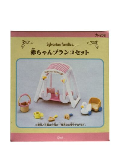 Three Seater Trike /& Baby Swing Two Sylvanian Families Sets Riding and Play