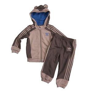excellent quality latest design factory authentic Details zu adidas Originals Kinder Monkey Trainingsanzug Baby Sport Anzug  Affe Braun