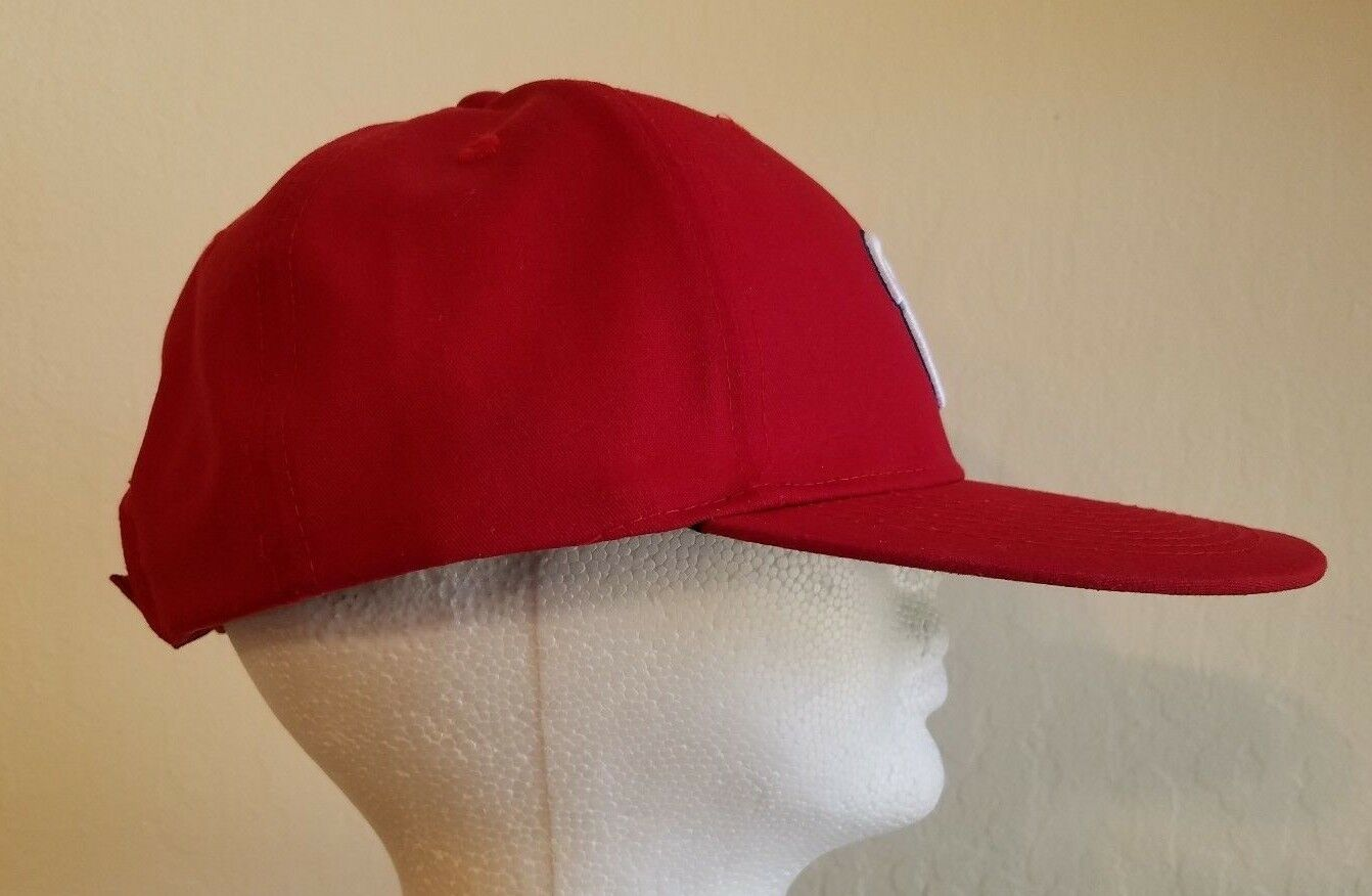 7c602e9039a ... france washington nationals mlb w logo oc sports team strapback hat  nwot red baseball hat e714e