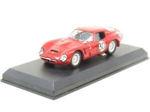 Mejores-modelos-diecast-9089-Alfa-Romeo-TZ2-Bolzano-1966-Rojo-1-43-ESCALA-en-Caja