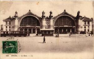 CPA-Tours-La-Gare-611837