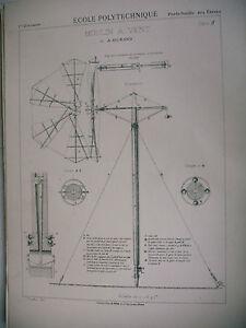 Planche Science école Polytechnique Moulin à Vent De A. Durand Vtnmmfpq-10042817-217165886