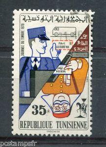 2019 Mode Tunesien 1970, Briefmarke 678, Journée Der Stempel, Entwertet Stempel Rund