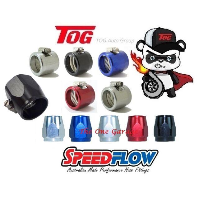 Speedflow 150 Series Cover Clamps Dash -4 150-04-P BLACK