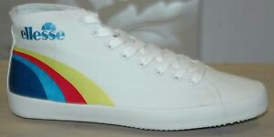 9 5 Logo 5 Whites Ellesse Hi 3 Unisex Pump With White top Sizes vzqxTU
