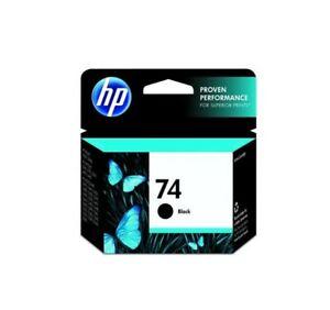 HP 74 Original (CB335WN) Black Noir Ink Cartridge