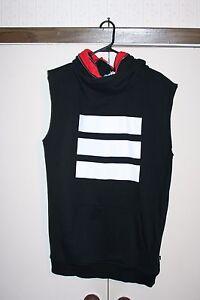Sweatshirt Adidas Berlin Small Lxxii Sleeveless Germany Zip Stripe X qpY1wxrp5