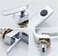 C-shape-4-Color-Bathroom-Deck-Mounted-Basin-Sink-Mixer-Faucet-Solid-Brass-Taps thumbnail 5