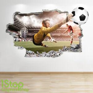 3e37bb82 Details about FOOTBALL STADIUM WALL STICKER 3D LOOK - BOYS KIDS BEDROOM  WALL DECAL Z530