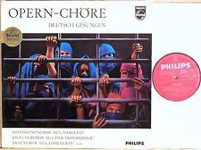 "PHILIPS GERMANY Opera Choruses WAGNER ""Hi-Fi STEREO"" Sticker 837 039 GY NM-"