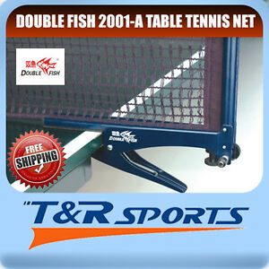 DF-2001-A-Table-Tennis-Ping-Pong-Clamp-Net-amp-Post-Set-RRP-29-Free-Delivery