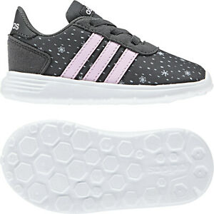 Details about Adidas Infants Shoes Kids Lite Racer CLN Girls Running Training School F35651