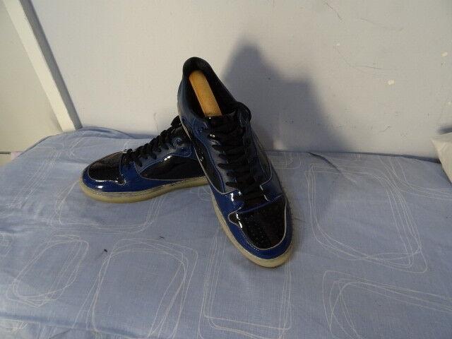 Para hombres Cuero Balenciaga hecho en Itay Multi Sneaker Con Cordones Size Uk 9