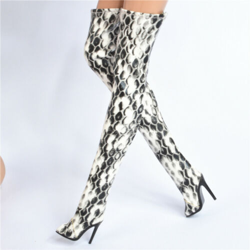Sherry shoes for Fashion royalty Meteor FR2 FR6.0 PP doll Snakeskin pattern