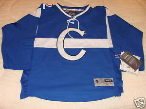 Image is loading Montreal-Canadiens-Centennial-Jersey-Youth-S-M-Hockey 8163a9aebae