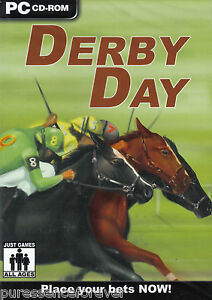 DERBY-DAY-UK-PC-CD-ROM-Game-Sld
