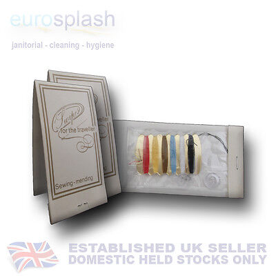HOTEL B&B GUEST HOUSE - MENDING AND SEWING KIT TRAVEL SIZE - EUROSPLASH