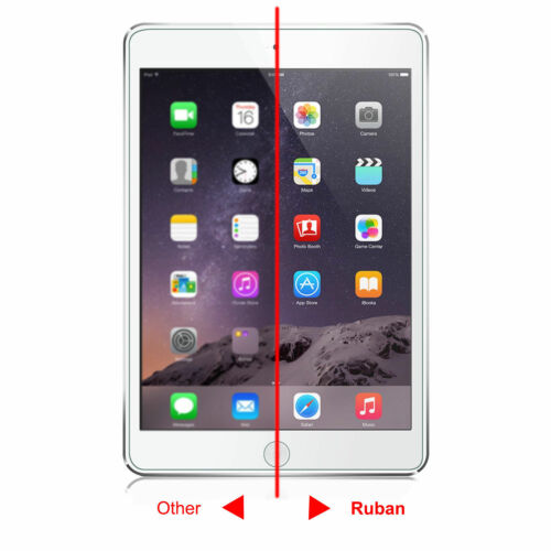 For iPad 9.7 2018 //2017 Pro 9.7 Air 1//2 Tempered Glass Screen Protector 2 Pack