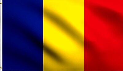 "Romania 3x5/' Flag NEW Romanian Banner 36x60/"" Big"