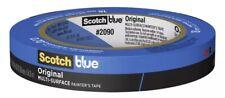 3m Scotch Blue 07 In W X 60 Yd L Blue Medium Strength Painters Tape