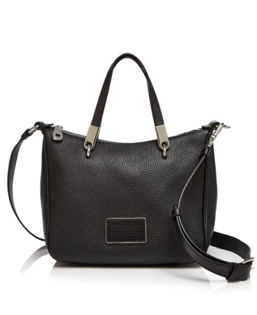 4dfddd0896bc Marc by Marc Jacobs Ligero Ninja Pebbled Leather Crossbody Black for ...