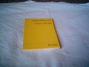 William Shakespeare: Romeo und Julia, Reclam - Heft - Steinabrückl, Österreich - William Shakespeare: Romeo und Julia, Reclam - Heft - Steinabrückl, Österreich