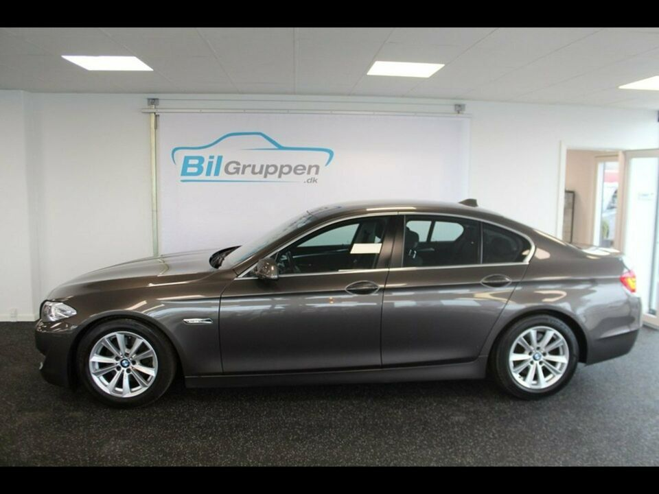 BMW 520d 2,0 aut. Diesel aut. modelår 2011 km 174000 Brun